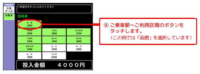 回数券購入方法2
